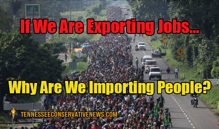 If We Are Exporting Jobs... Why Are We Importing People? Meme
