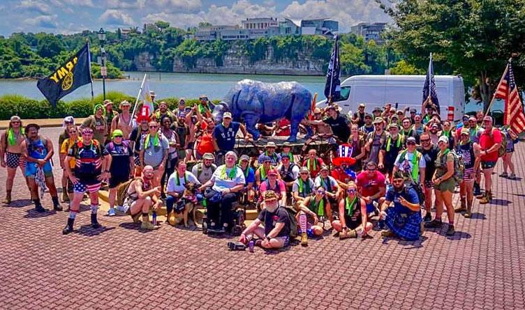 Irreverent Warriors Hosts Hike For Veterans In Chattanooga