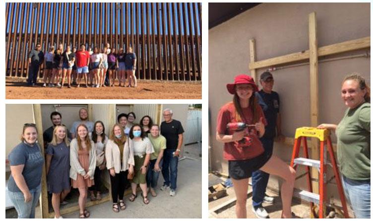Lee University Professor & Students Visit Southern Border