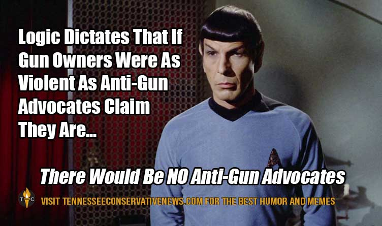 Logic Dictates Spock Gun Control Meme