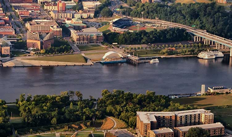 Chattanooga Tennessee Riverfront