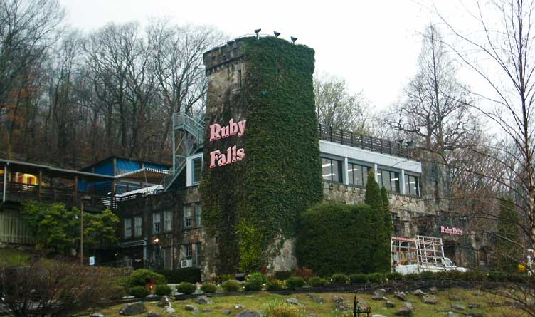 Ruby Falls Visitor Center, near Chattanooga, Tennessee in the United States