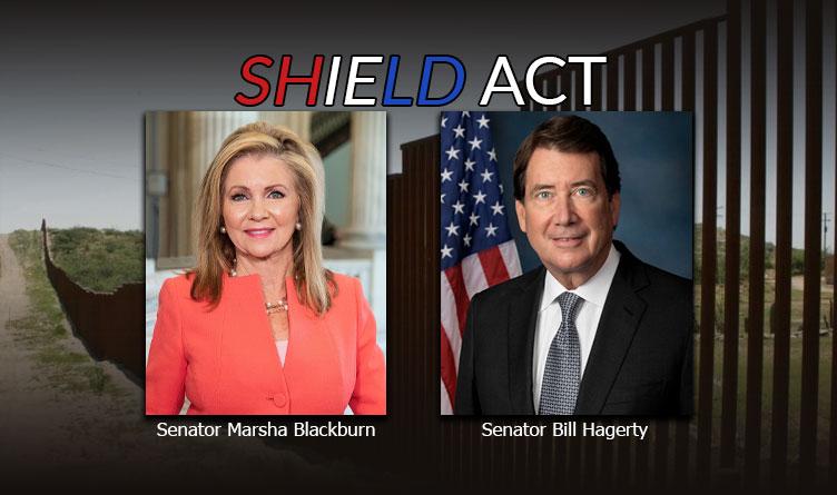 United States Senators Bill Hagerty and Marsha Blackburn