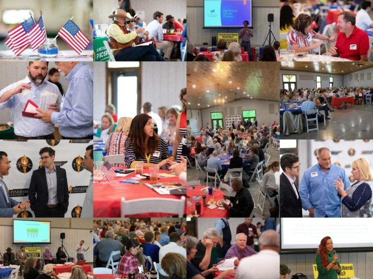 Tennessee Freedom Summit Photo Collage