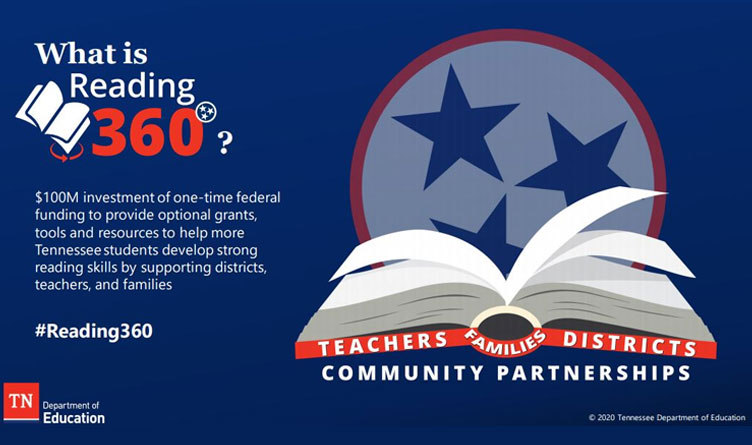 TN Dept of Education Opens Registration for Reading 360 Virtual Summit
