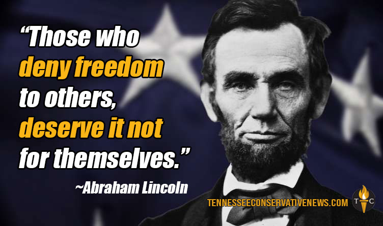 Those Who Deny Freedom... Abraham Lincoln Quote