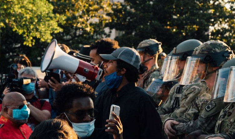 Activists Accuse Department Of Homeland Security Of Tracking Protest Attendees