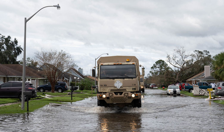 Biden Addresses Hurricane Ida As More Than 5,000 National Guard Troops Activated