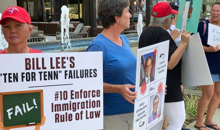 Conservative Protestors Claim Threats Of Expulsion From Future GOP Events