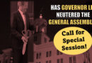 Has Governor Lee Politically Neutered The General Assembly?