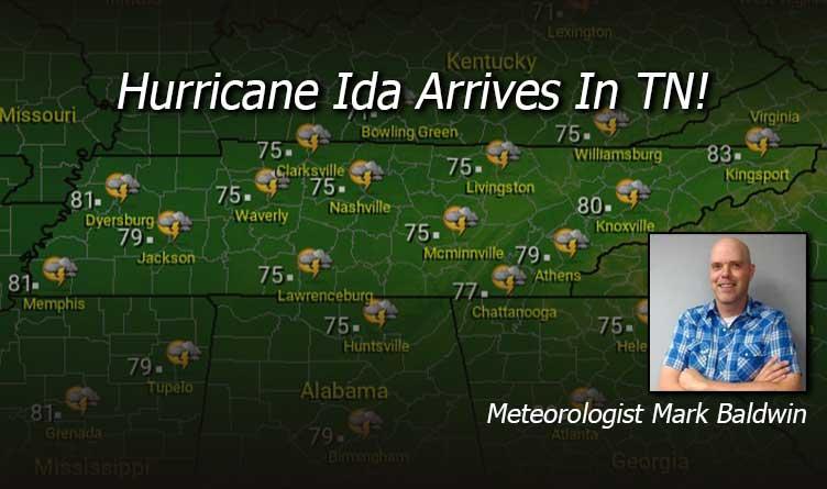 Hurricane Ida Arrives In Tennessee!