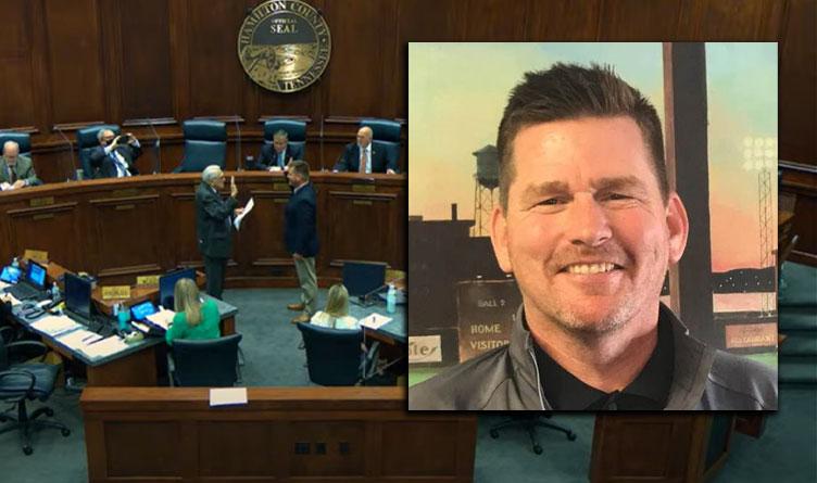 James B. Walker Sworn In As New District 9 School Board Member