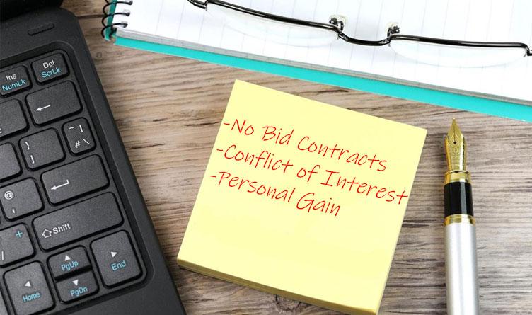 Legislators Seek Answers Regarding Billions of Dollars In No-Bid Contracts