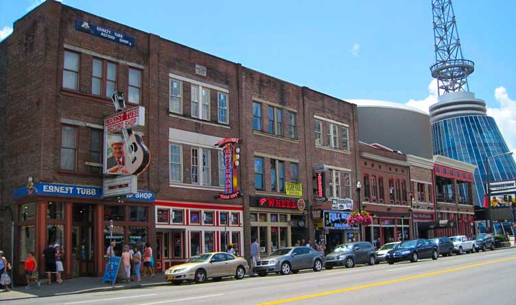 Downtown Nashville Tennessee