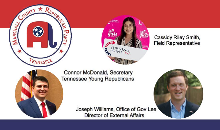 GOP Event Features Speakers From Turning Point USA, Office Of Gov. Lee, TN Young Republicans
