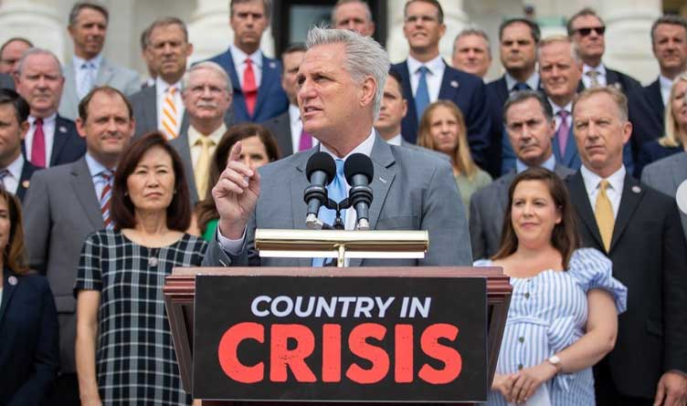 McCarthy Blasts Pelosi And Democrats At Statesmen's Dinner In Nashville