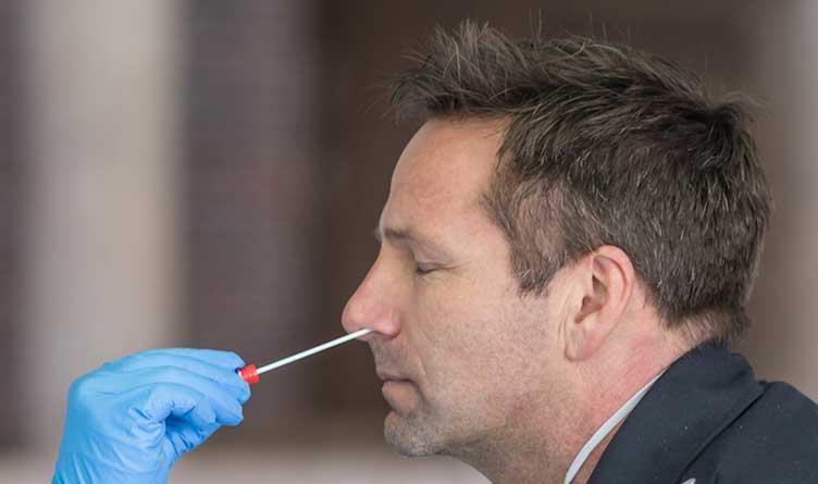 COVID Test Nasal Swab