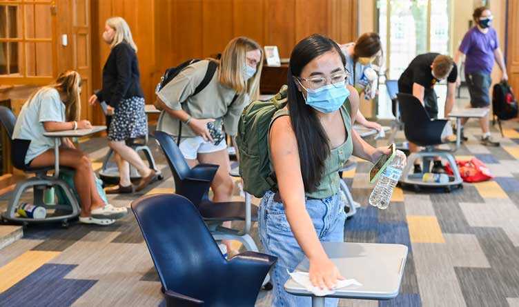 UTC To Require Masks For All, Regardless Of Vaccination Status