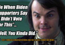 """Me When Biden Supporters Say """"I Didn't Vote For This."""" ... """"Well, You Kinda Did."""" Humor Meme"""