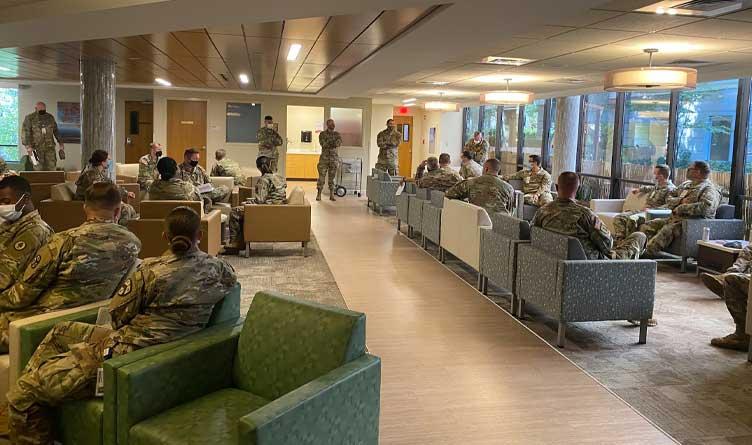 30 National Guardsmen Stationed At Erlanger