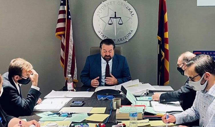 Arizona First In Nation To Sue Biden Over COVID Vaccine Mandates