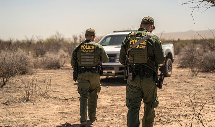 August Border Crossings Remain At Near-Record High