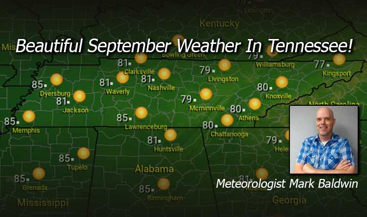Beautiful September Weather In Tennessee!