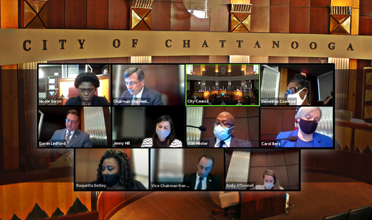 Chattanooga City Council Budget Vote Delayed