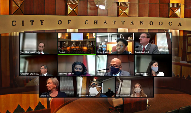 Chattanooga City Council Passes Kelly's 2021-22 Budget On First Reading