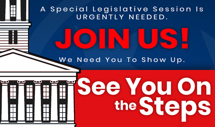 Conservative TN Organizations Respond To Call For Special Session