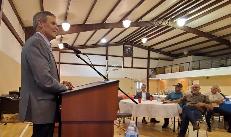 Video: Governor Lee Speaks At Meigs County GOP Meet & Greet