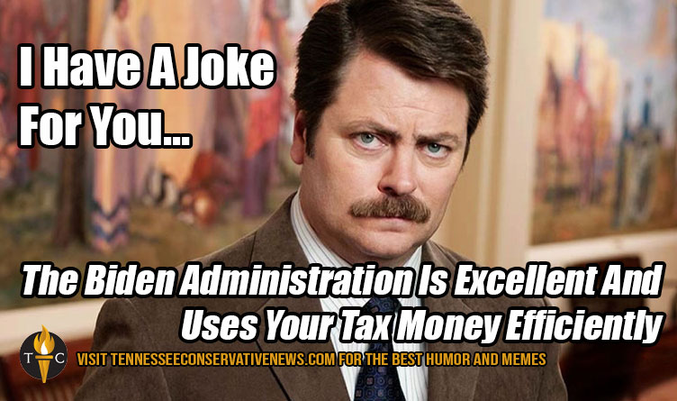 I Have A Joke For You Biden Ron Swanson Meme