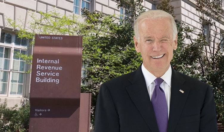 IRS Would Track All Bank Transactions Over $600 Under Biden Plan; Businesses Revolt