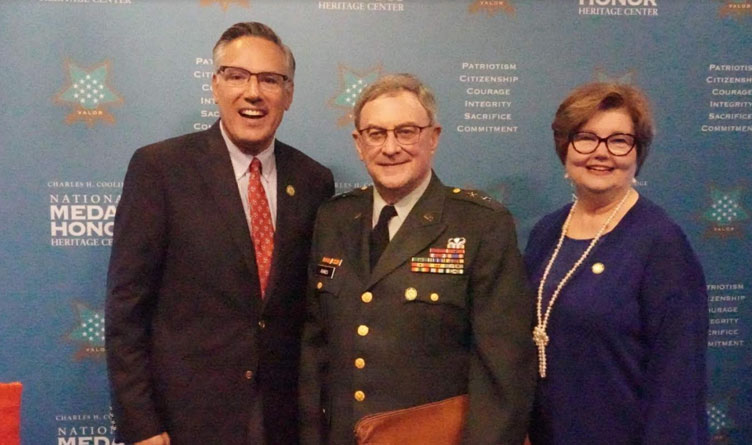 """Major General (Ret.) Bill Raines Delivers Commemorative Speech for """"9/11: A Day of Remembrance"""""""