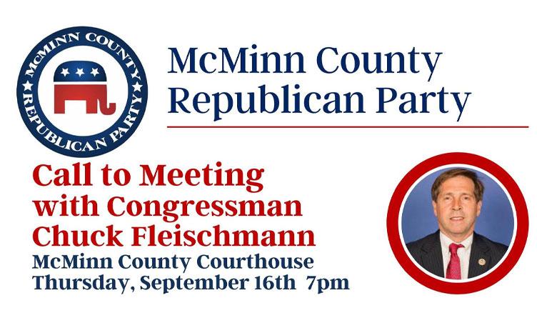 McMinn County GOP Event Features Congressman Chuck Fleischmann