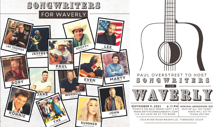 Nashville Concert Benefits Waverly Flood Victims