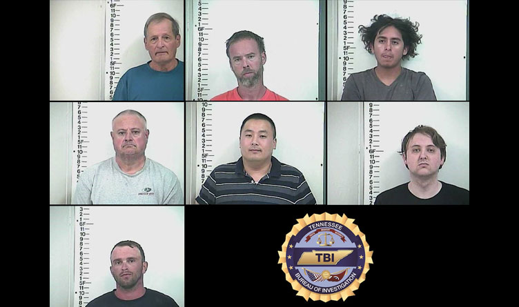 Seven Arrested In Middle Tennessee Sex Trafficking Bust