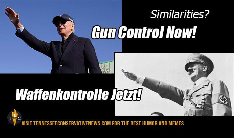 Gun Control Now Biden Meme