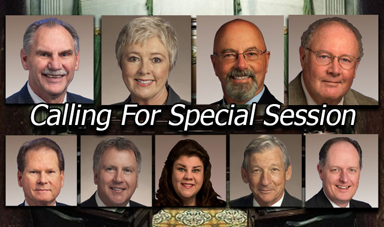 Growing Numbers of Concerned TN Senators & GOP Leaders Call For Special Session as McNally Stonewalls