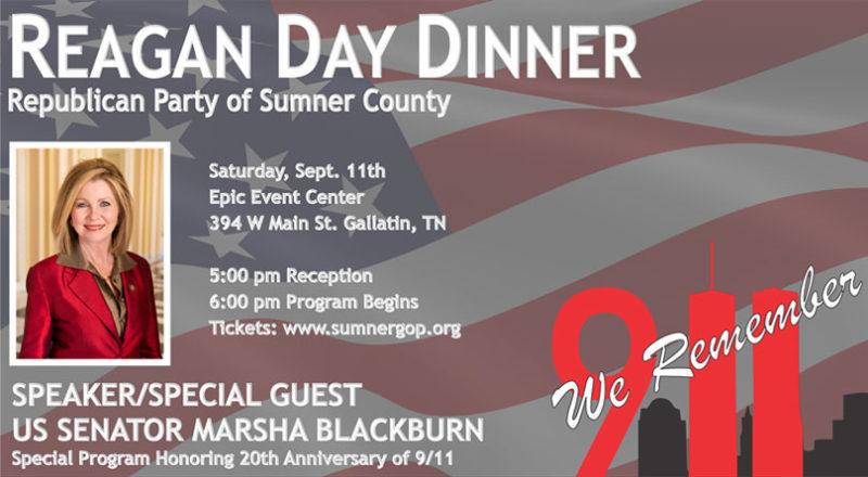 Sumner County GOP Event Remembering 9/11 Features Marsha Blackburn