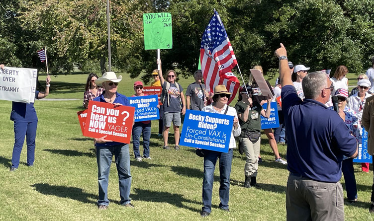 Tennesseans Voice Desire For Protection Of Freedoms At Peaceful Assembly In Oak Ridge