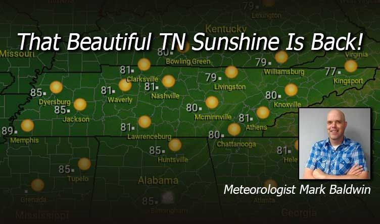 That Beautiful Tennessee Sunshine Is Back!