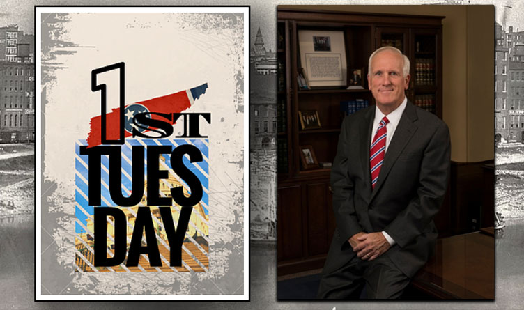 """1st Tuesday Nashville To Host """"Perhaps the Busiest Man in Tennessee"""" - AG Slatery"""