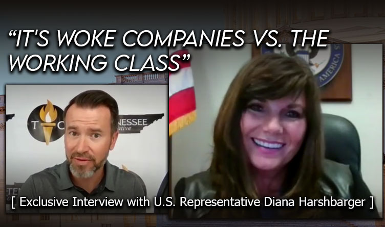 """""""It's Woke Companies Vs. The Working Class"""" [ Exclusive Interview with U.S. Rep. Diana Harshbarger ]"""