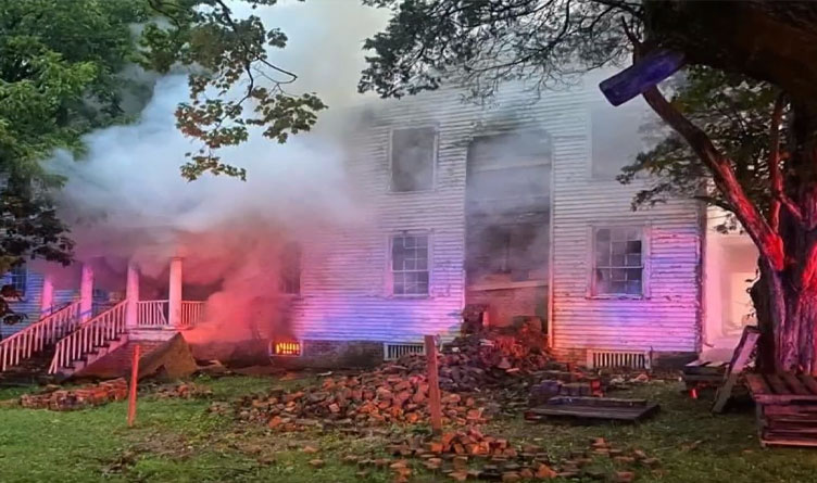 Monroe County Fire Inspector Accused Of Setting Fire To Historic Home