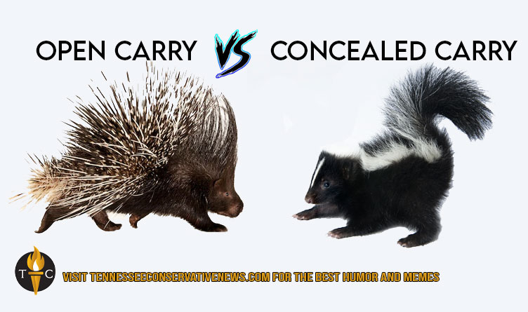 Open Carry Vs. Concealed Carry Meme