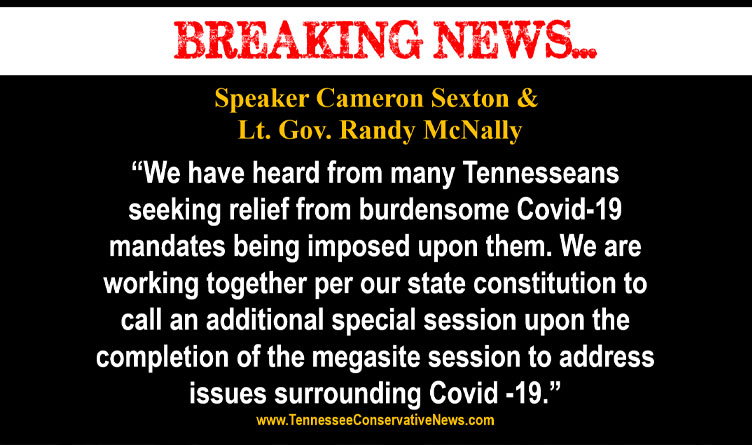 Sexton, McNally Announce Intent To Call Special Session To Address COVID Response