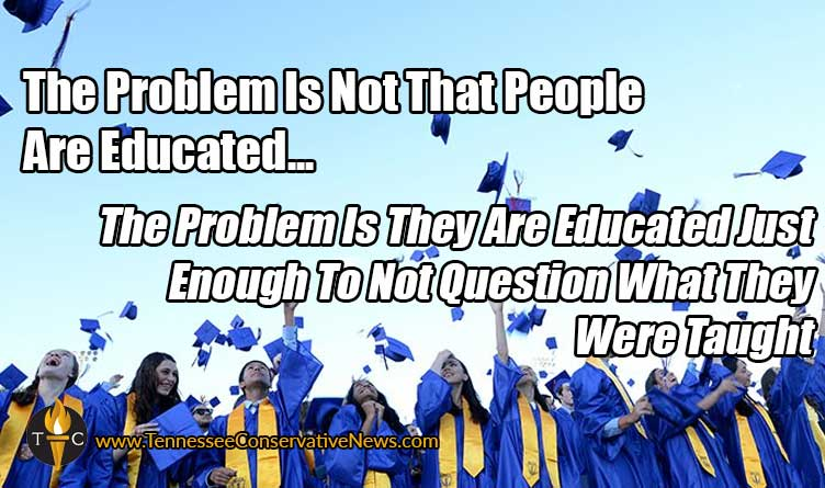 The Problem Is Not That People Are Educated... Meme